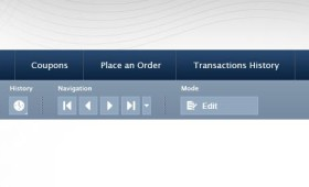 Toolbar Template PSD