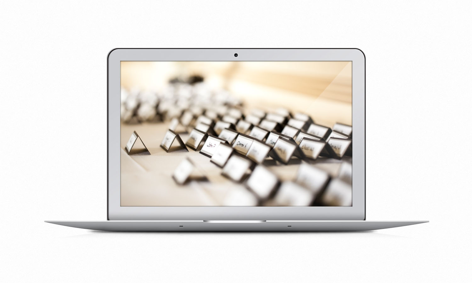 Mockup macbook air PSD