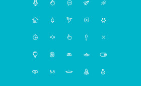 MiniCons – Free Vector Shaped Icons