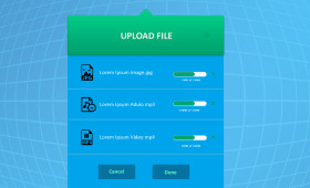 Flat File Uploader PSD