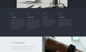Tork Startup Website Template FREE Photoshop PSD